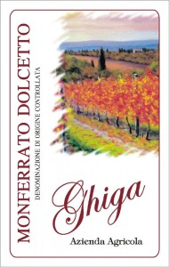 Monferrato Dolcetto DOC - Ghiga