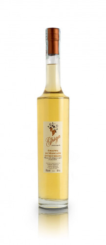 Grappa of Moscato Aged